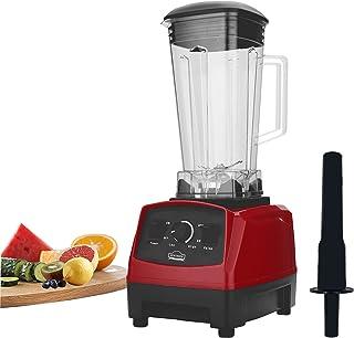 DEWINNER Blender Smoothie, Multifonction Mixeur, 1500W + fonction Pulse , Capacité totale de 2 L, Système Smart Lock, Nett...