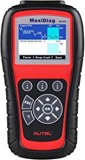 Autel MaxiDiag MD805 OBD2 Scanner Full System Diagnostic Tool with Engine, Transmission, ABS, Airbag, EPB, Oil Reset - Upgraded Ver. of MD802