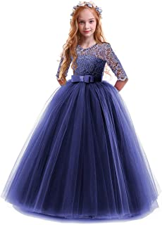 blue pageant gowns