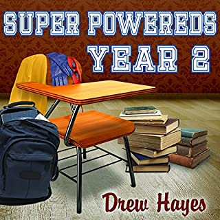 Super Powereds: Year 2 audiobook cover art