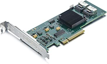 Internal PCI Express SAS/SATA HBA RAID Controller Card, SAS2008 Chip, 8-Port 6Gb/s, Same..