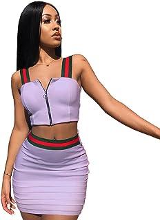 4ff6560ddc0f03 Amazon.fr : deux pieces - Jupes / Femme : Vêtements