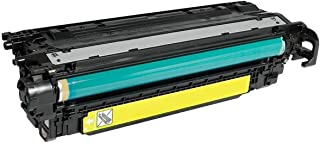 HQ Supplies Remanufactured Replacement for HP 507A, HP CE402A, Yellow Laser Toner Cartridge for HP LaserJet Enterprise 500 Color M551dn, M551n, M551xh, MFP M575dn, MFP M575f, and MFP M575c Printers