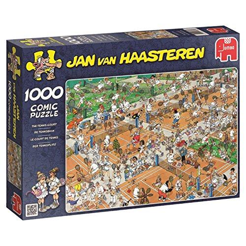 Jumbo Jan Van Haasteren The Tennis Court Jigsaw Puzzle (1000 Piece)