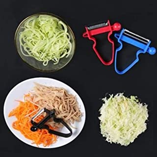 Kitchen creative multi-function three-piece paring knife