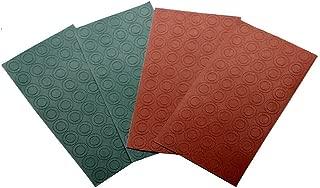 ThreeBulls 200Pcs Cardboard 18650 Battery Insulators Electrical Insulating Adhesive Paper (Red 100Pcs + Green 100Pcs)