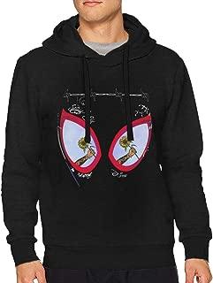 Caoxu Unisex Hoodie Post Malone Swae Lee Sunflower Spider Graphic Printed Hooded Sweatshirt Top