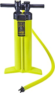 Inflatable Paddleboard and Kayak Hand Pump - Double Chamber – Air Pump for Inflatables Includes PSI Gauge, Hose, and Air V...