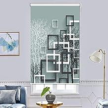 ستائر تعتيم النافذة مطبوعة لتزيين الغرفة بشكل عمودي وتعتيم 100% ذات تصميم عصري