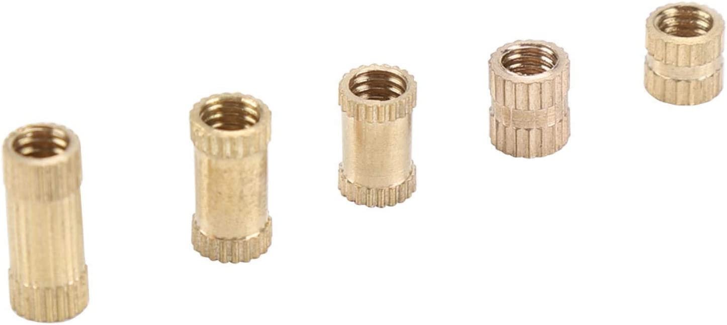 excellence Ranvo Genuine M4 Nut Brass for Home Industry Knurled