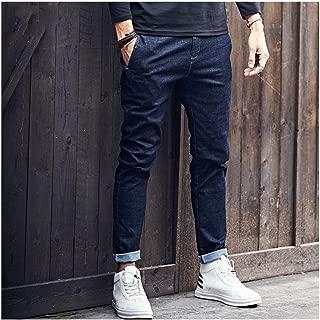 LUKEEXIN Mens Black Jeans Long Trousers Mens Denim Jeans Pants Clothes Plus Size