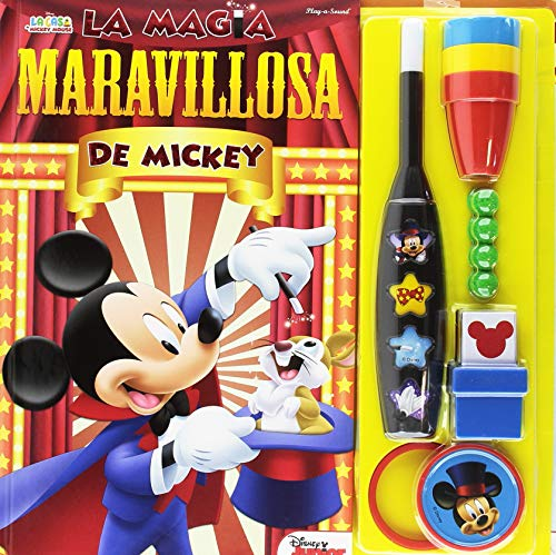 EL LIBRO DE MAGIA DE MICKEY MOUSE MAGIC SET (MAGIC SET BOOK)