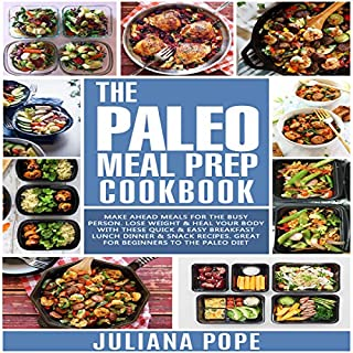 The Paleo Meal Prep Cookbook cover art