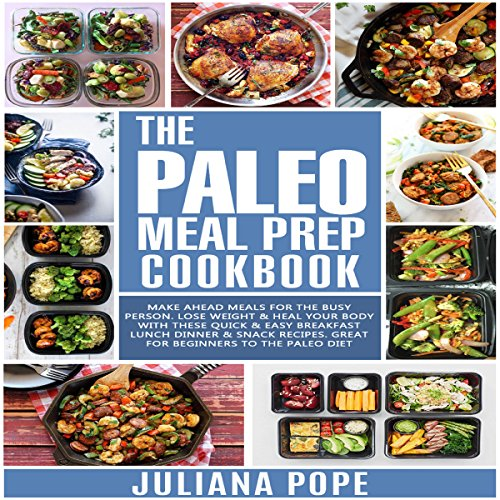 The Paleo Meal Prep Cookbook audiobook cover art