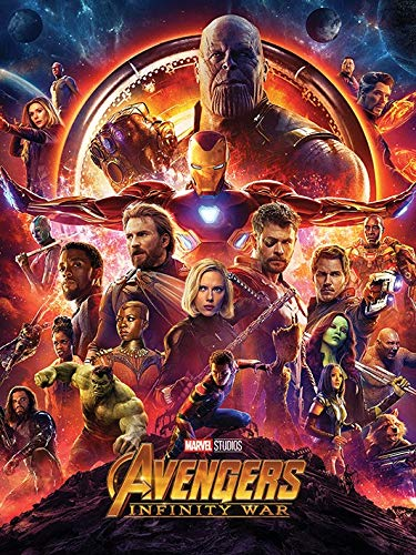 Pyramid International Avengers Infinity War Canvas Print 80cm by 60cm