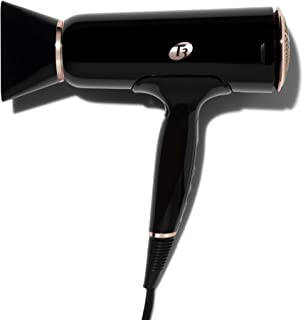 T3 - Cura LUXE Hair Dryer   Digital Ionic Professional Blow Dryer   Frizz Smoothing   Fast Drying Wide Air Flow   Volume Booster   Auto Pause Sensor   Multiple Speed and Heat Settings   Cool Shot