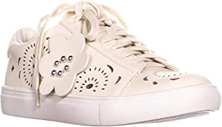 Nanette Lepore Wesley Lace Up Sneakers, Off White