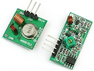 RF Wireless Transmitter and Receiver Link Kit Module 433Mhz for Arduino by Atomic Market