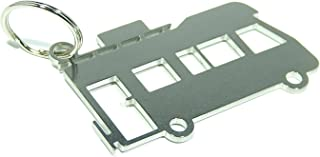 DisagrEE Schlüsselanhänger Wohnmobil   hochwertiger Edelstahl   glänzend