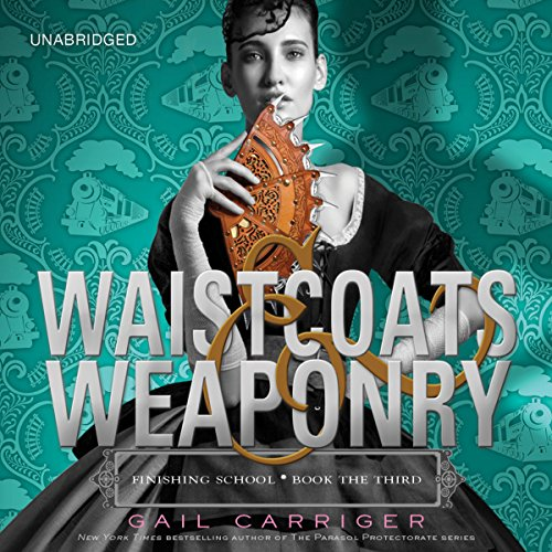 Waistcoats & Weaponry                   Written by:                                                                                                                                 Gail Carriger                               Narrated by:                                                                                                                                 Moira Quirk                      Length: 8 hrs and 53 mins     2 ratings     Overall 5.0