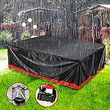 Garden Furniture Cover, Patio Furniture Covers Waterproof, Audew Heavy...