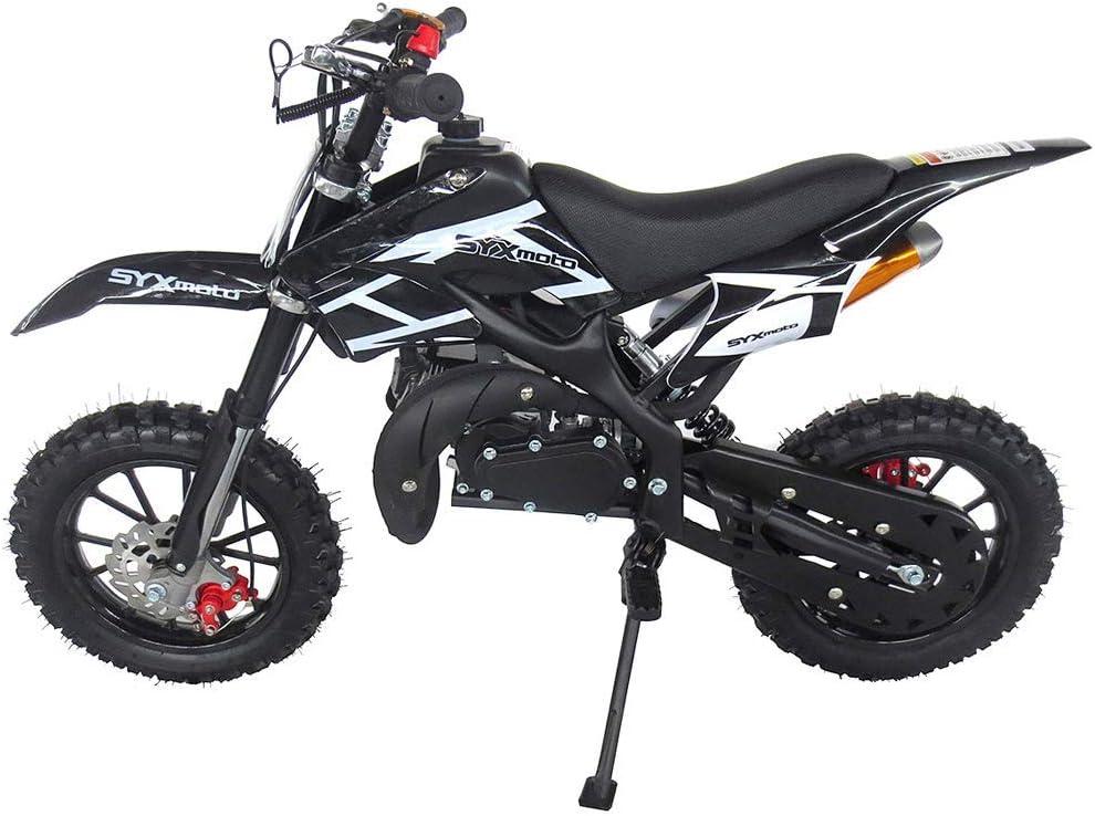 SYX Seattle Mall MOTO outlet Kids Dirt Bike Holeshot 2 Mini 50cc Gas Power