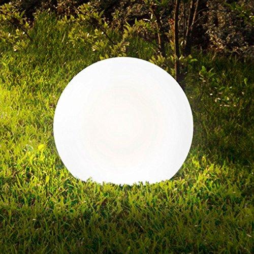 Licht-Trend Bolla XL Garten Aussenkugel Ø 60 cm Weiss Kugellampe Gartenkugel