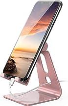 Lomicall スマホ スタンド ホルダー 角度調整可能, 携帯電話卓上スタンド : 卓上 充電スタンド,Lomicall スマホ スタンド ホルダー 角度調整可能, 横, 縦, 携帯電話卓上スタンド : 卓上 充電スタンド, スマフォスタンド, アイフォンデスク置き台, aluminium, Nintendo Switch 対応, アイフォン, アンドロイド, iPhone 11, 11 Pro , 11 Pro Max, 11 プロ マックス XS XS Max XR X 8 plus 7 7plu
