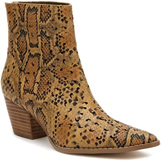 Footwear Carter Ankle Boot, Exotic Snake Print, Unique...
