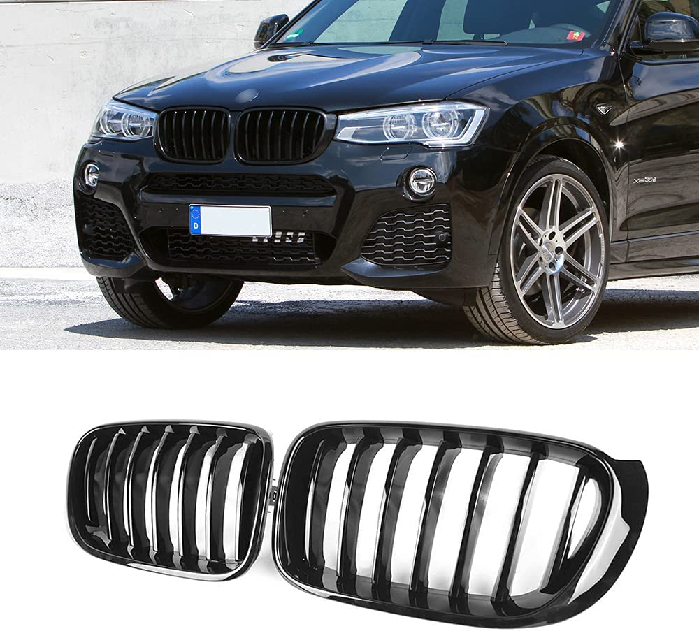 SNA F25 Grill Fashion F26 Grille Compatible L 2014-2017 for X3 BMW All items free shipping