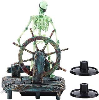 Semme Figura de acción para Acuario, decoración de Paisaje de Acuario de capitán Pirata,