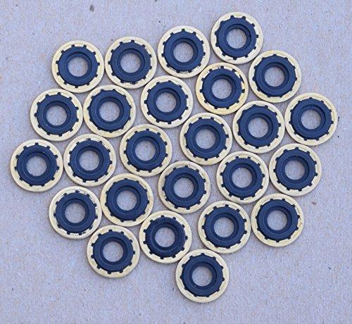 Medical Oxygen Regulator Brass Yoke Washer Seal -Pack of 25