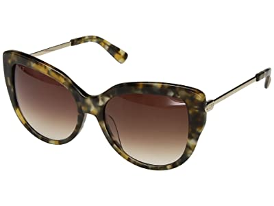 DIFF Eyewear Avery (Sea Turtle/Brown) Fashion Sunglasses