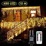 B-right Cortina de Luces, 480 LEDS,Cortina de Luces de...