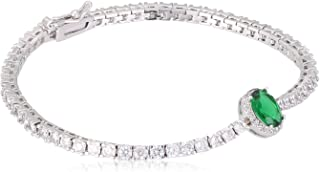 Swarovski Elements fashion lady 18K white gold Plated elegant glisten diamonds bangle crystal Charm Bracelet JINB11