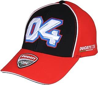 Corse Official MotoGP Andrea Dovizioso Race Team Cap Adjustable Embroidered Snapback Hat