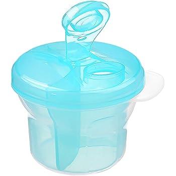 2*Green+Pink 3 UNIDS Color Brillante Beb/é Leche en Polvo Dispensador Formual Alimentaci/ón de Alta Capacidad Caja de Almacenamiento de Viaje para beb/és Recipiente de leche en polvo