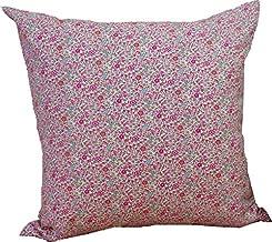 リバティプリントクッションカバー LIBERTY ART FABRICS ブロード生地 小花柄 ケイティアンドミリー (ピンク)