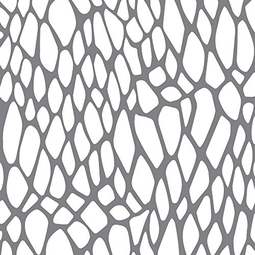 Andy Skinner Mixed Media Schablone, Schlangengewebe, Grau, 16 x 16 x 0,3 cm