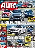 Auto Zeitung 9/2020 'Ford Puma gegen VW T-Cross'