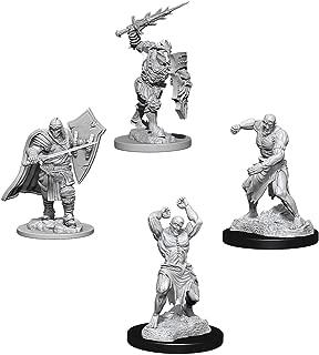 Dungeons & Dragons Nolzur's Marvelous Unpainted Miniatures Bundle: Death Knight/Helmed Horror W6 + Flesh Golem W6