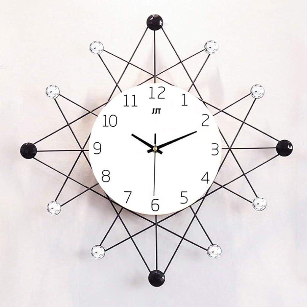 フレアパテ流用するスタイリッシュでシンプルなホームリビングルームクォーツ時計ジュエリーウォールクロック