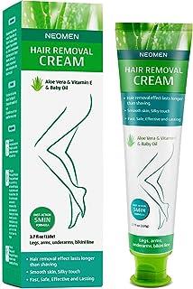 Neomen Hair Remover - Hair Removal Cream - Super Gentle & Safe Depilatory Cream - Skin Friendly Painless Flawless Non-Irri...