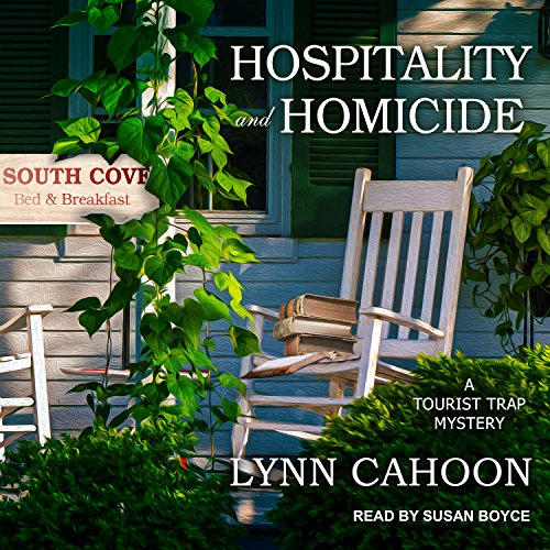 Hospitality and Homicide audiobook cover art