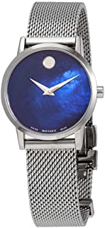 Museum Classic Blue Mother of Pearl Dial Ladies Watch 0607425