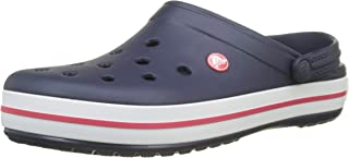 Crocs Mens and Womens Crocband Clog | Comfort Slip On Casual Water Shoe | Lightweight