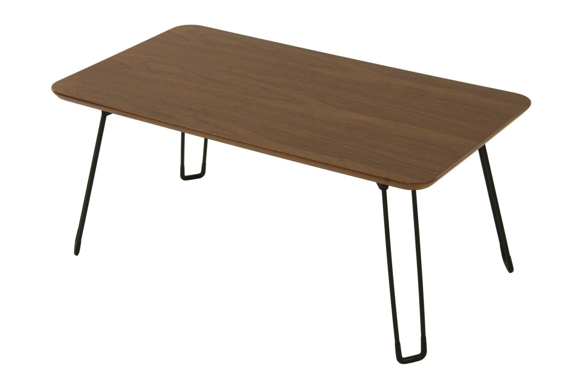 narumikk ウォールナットローテーブル フレンズ ブラウン幅80cm 27-327