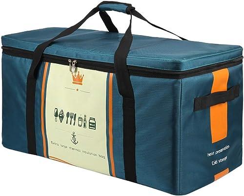 Sac de rangeHommest surdiPour des hommesionné pour voiture de sac de pique-nique pour répondre aux besoins de la famille en voyage (Couleur   bleu, Taille   M)