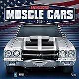 American Muscle Cars - Amerikanische Muscle-Cars 2019 - 18-Monatskalender (Wall-Kalender)