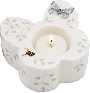 Lenox Butterfly Meadow Votive with Candle.